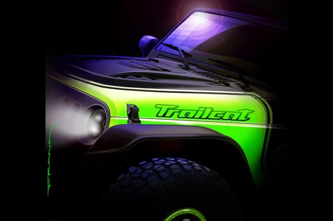 The Jeep Trailcat Might Be a Hellcat-Powered Wrangler