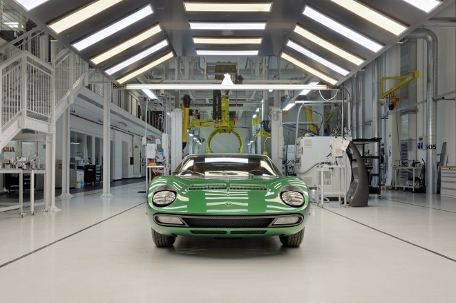 The Resurrection of Lamborghini Miura SV #4846