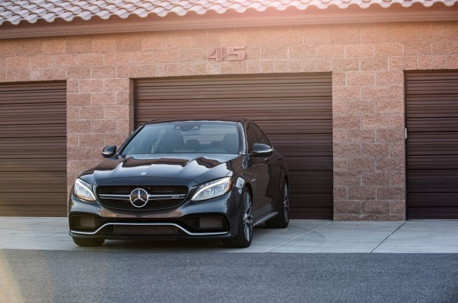 Mercedes AMG C63 S front end