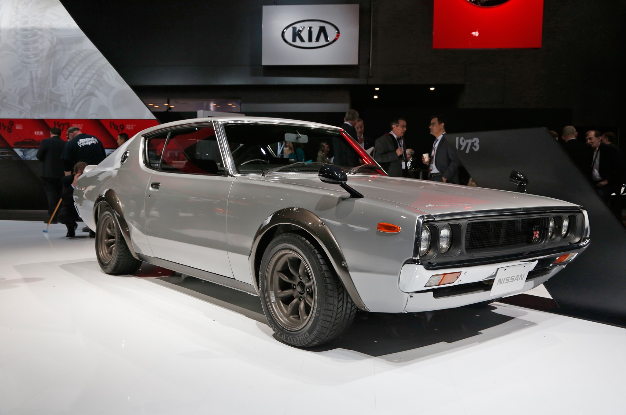 Vintage nissan skyline gt rs invade new york auto show the 1973 skyline vanachro Gallery