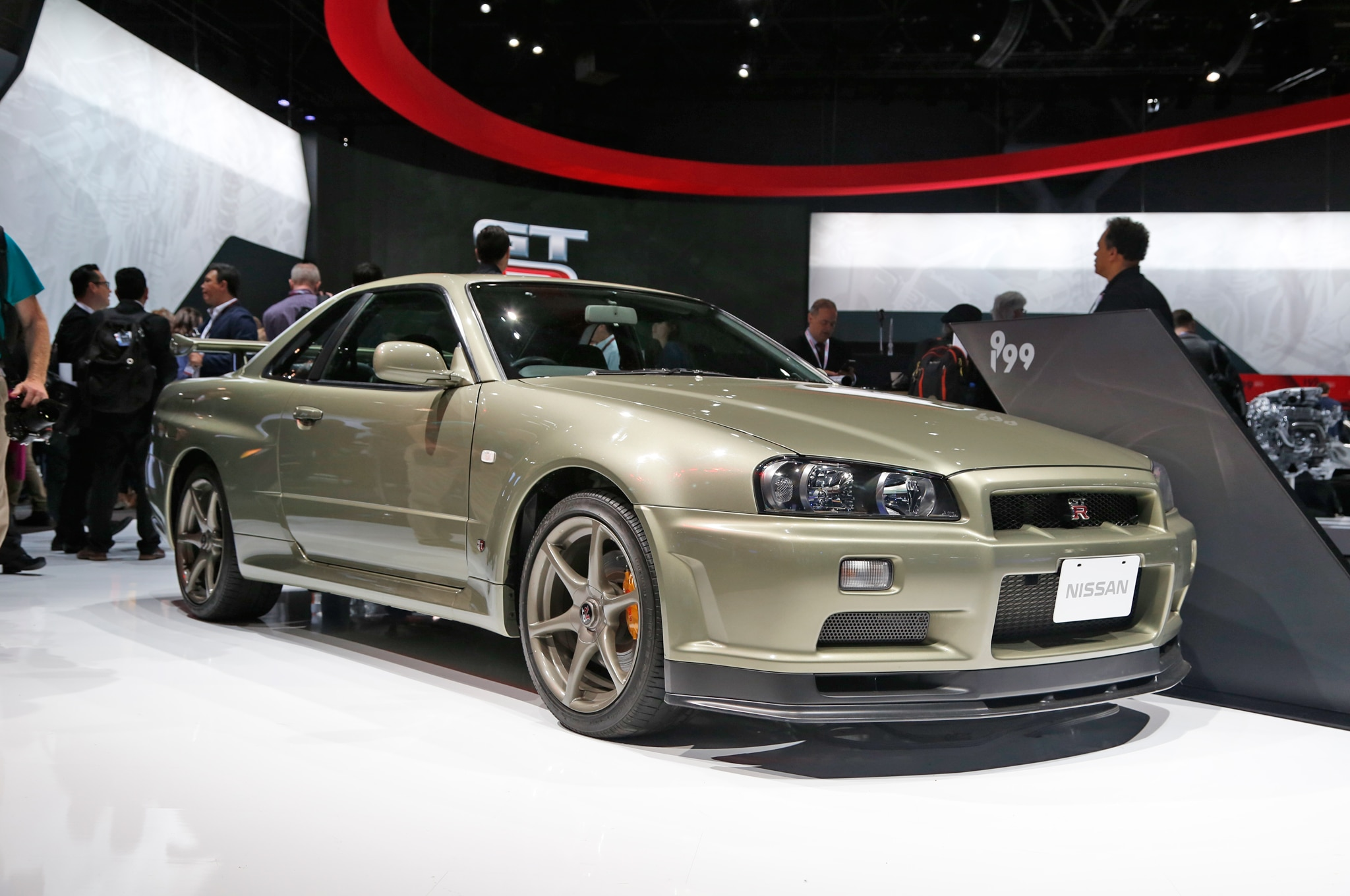 Vintage nissan skyline gt rs invade new york auto show show more vanachro Gallery