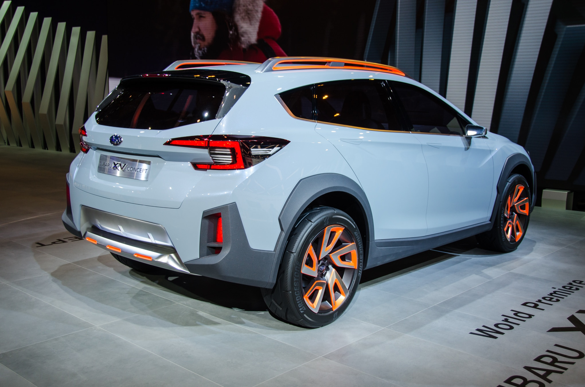 subaru xv concept is a thinly disguised look at the future crosstrek