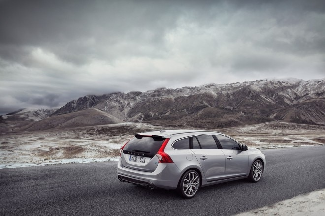 Volvo V60 with Polestar Parts rear three quarter