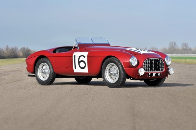 1951 Ferrari 340 America Barchetta front three quarters