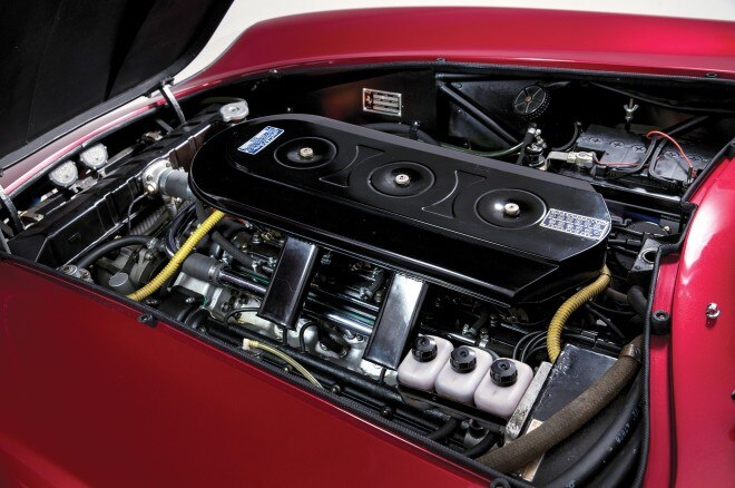 1968 Ferrari 275 GTB4 NART Spider engine