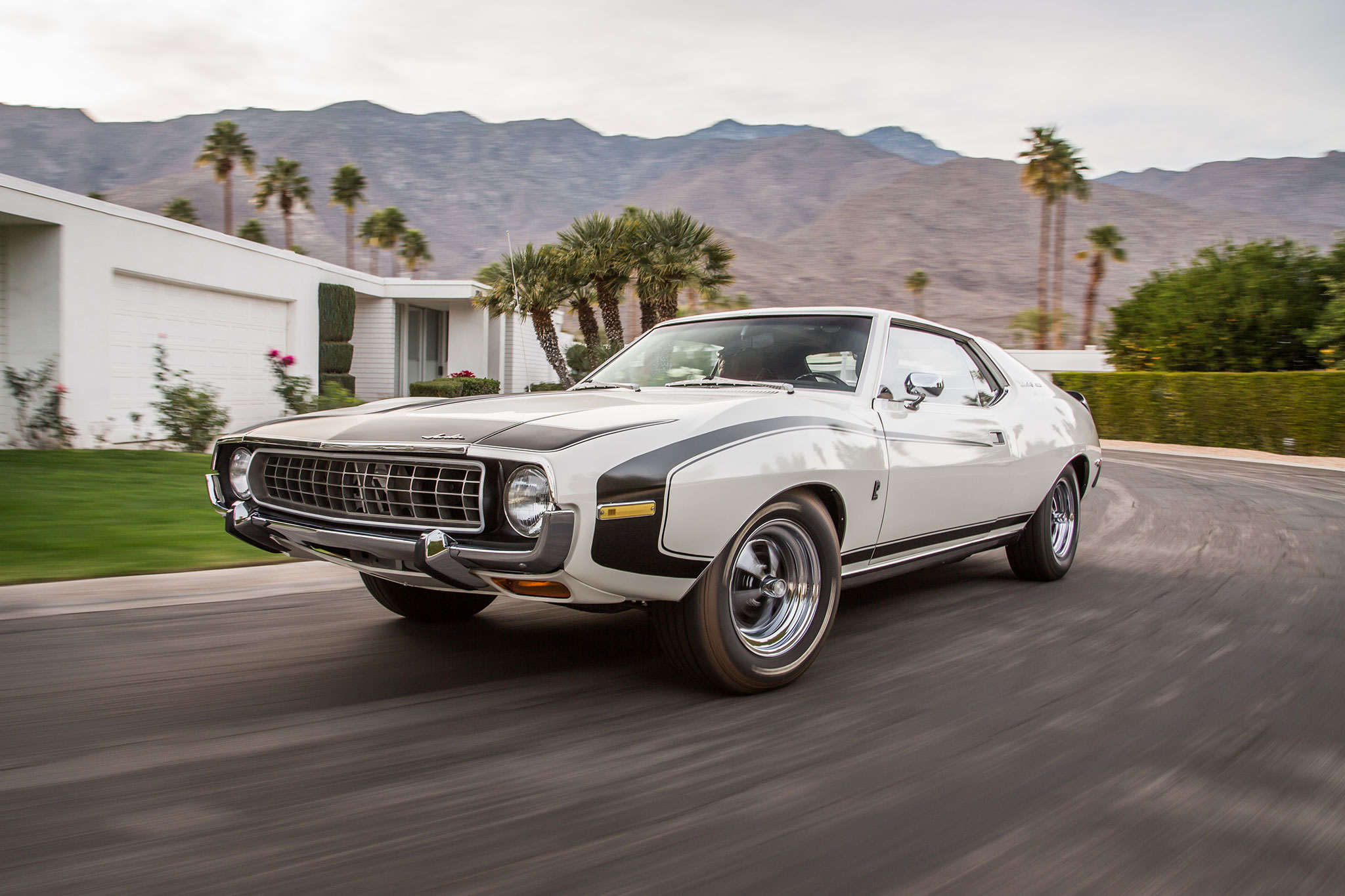 1972 AMC Javelin SST Front Three Quarter In Motion 04