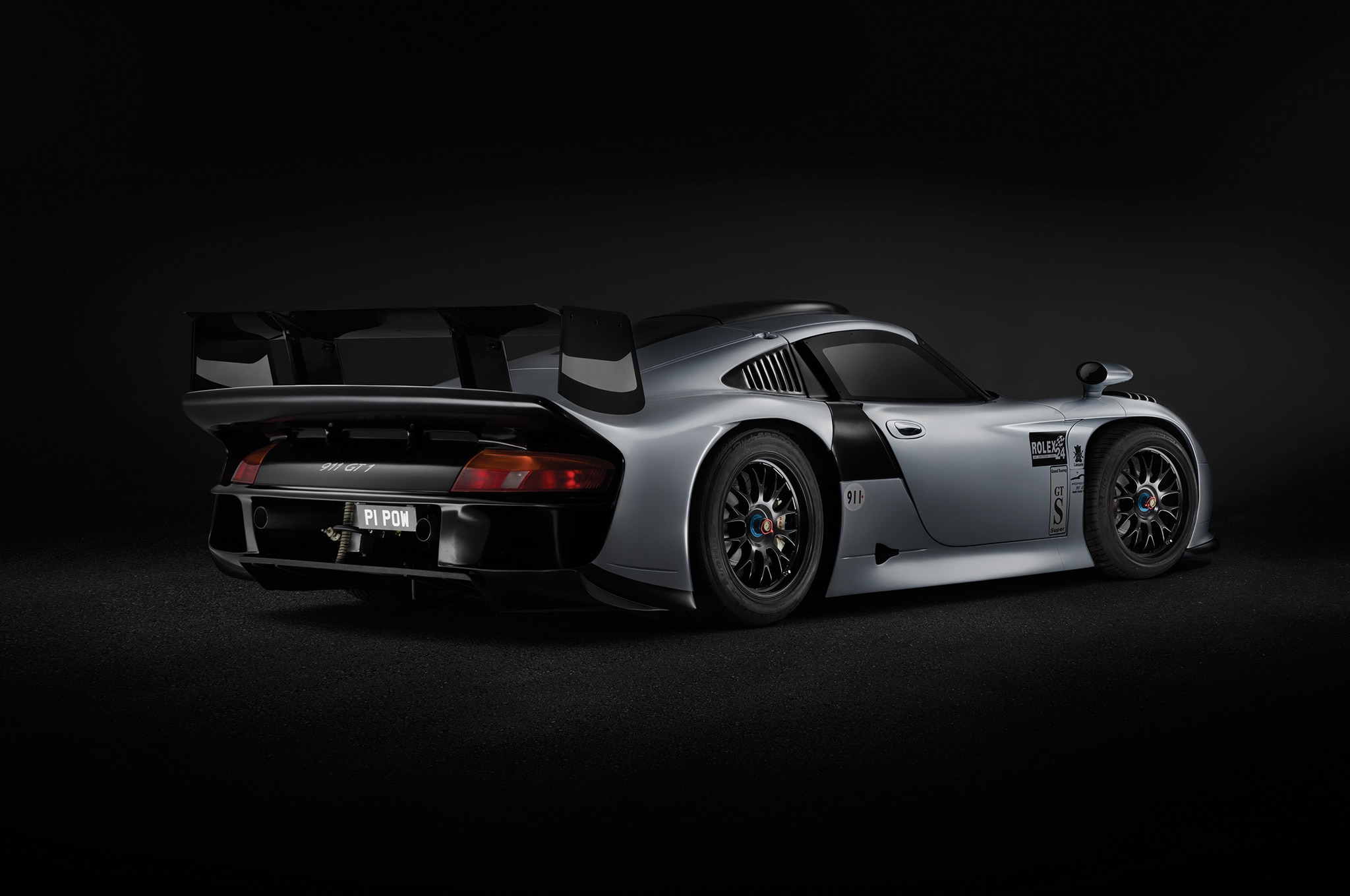 1997-Porsche-911-GT1-Evo-rear-three-quarters Inspiring Porsche 911 Gt1 Road atlanta Cars Trend