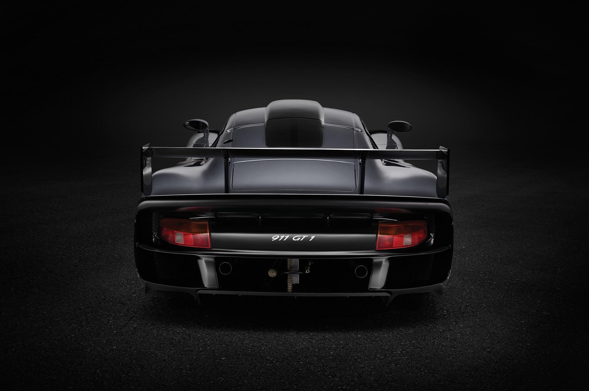 1997-Porsche-911-GT1-Evo-rear Inspiring Porsche 911 Gt1 Road atlanta Cars Trend