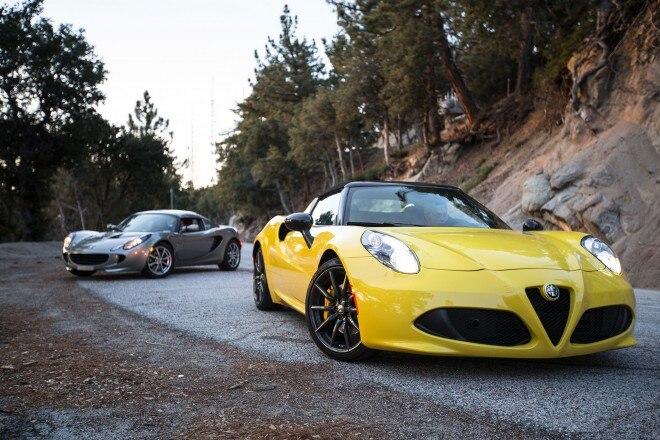 Alfa Romeo 4c Quarter Mile >> 2015 Alfa Romeo 4C Spider – Better Than the Lotus Elise? | Automobile Magazine