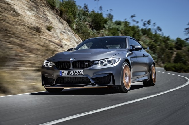 2016 BMW M4 GTS Front Three Quarter In Motion 07 660x439