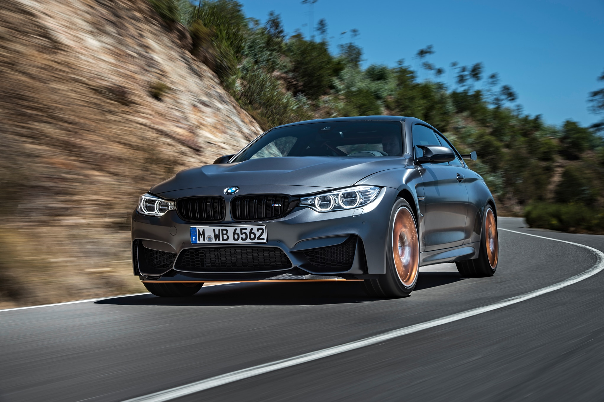 2016 BMW M4 GTS Front Three Quarter In Motion 07