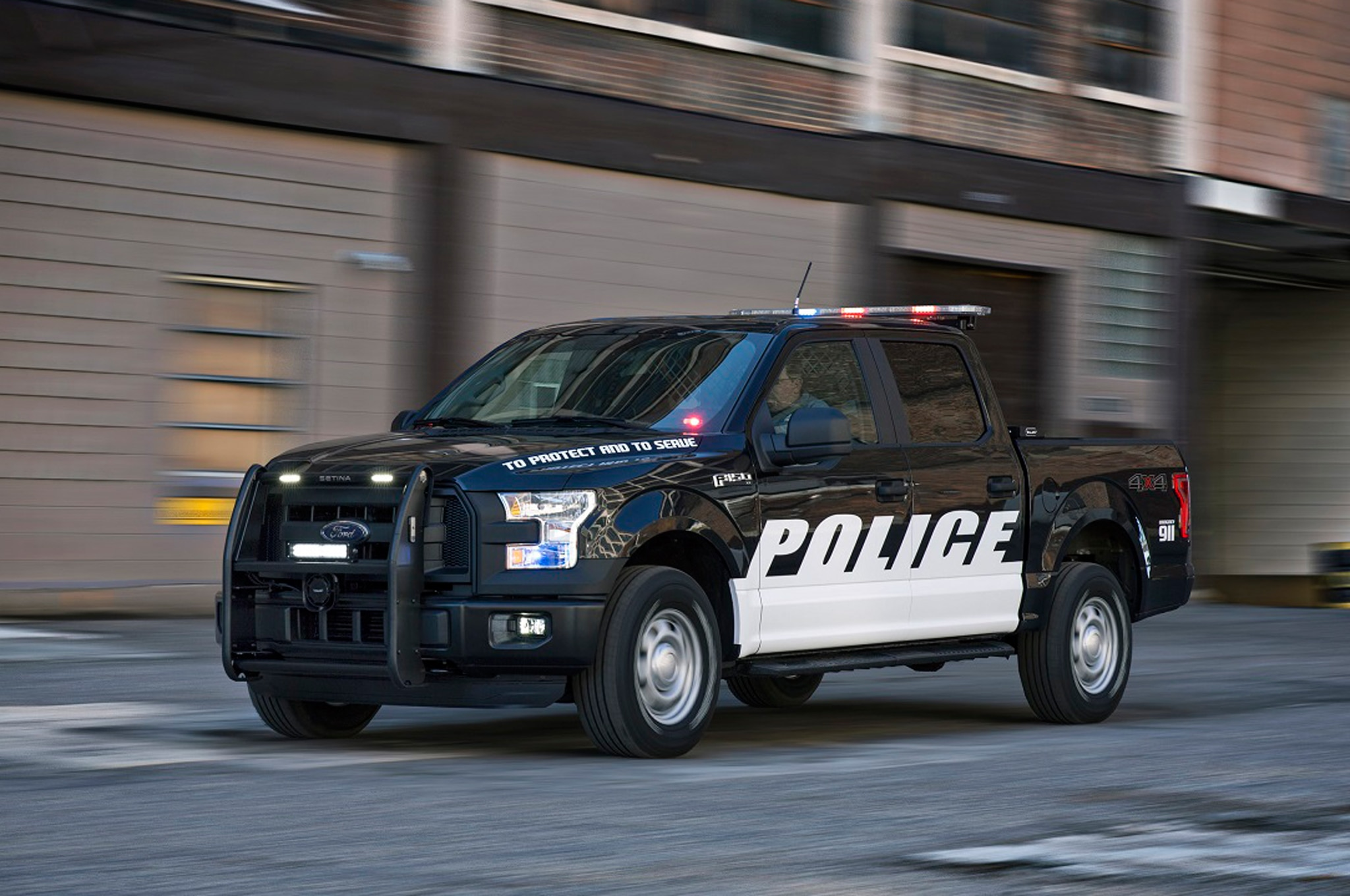 Ford F 150 Adds Special Service Vehicle For Law