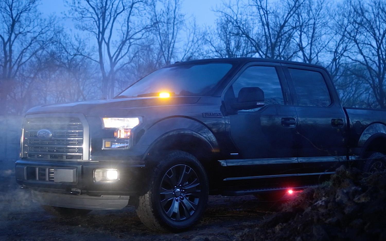 2016 Ford F 150 Adds Built In Led Strobe Lights For Fleet