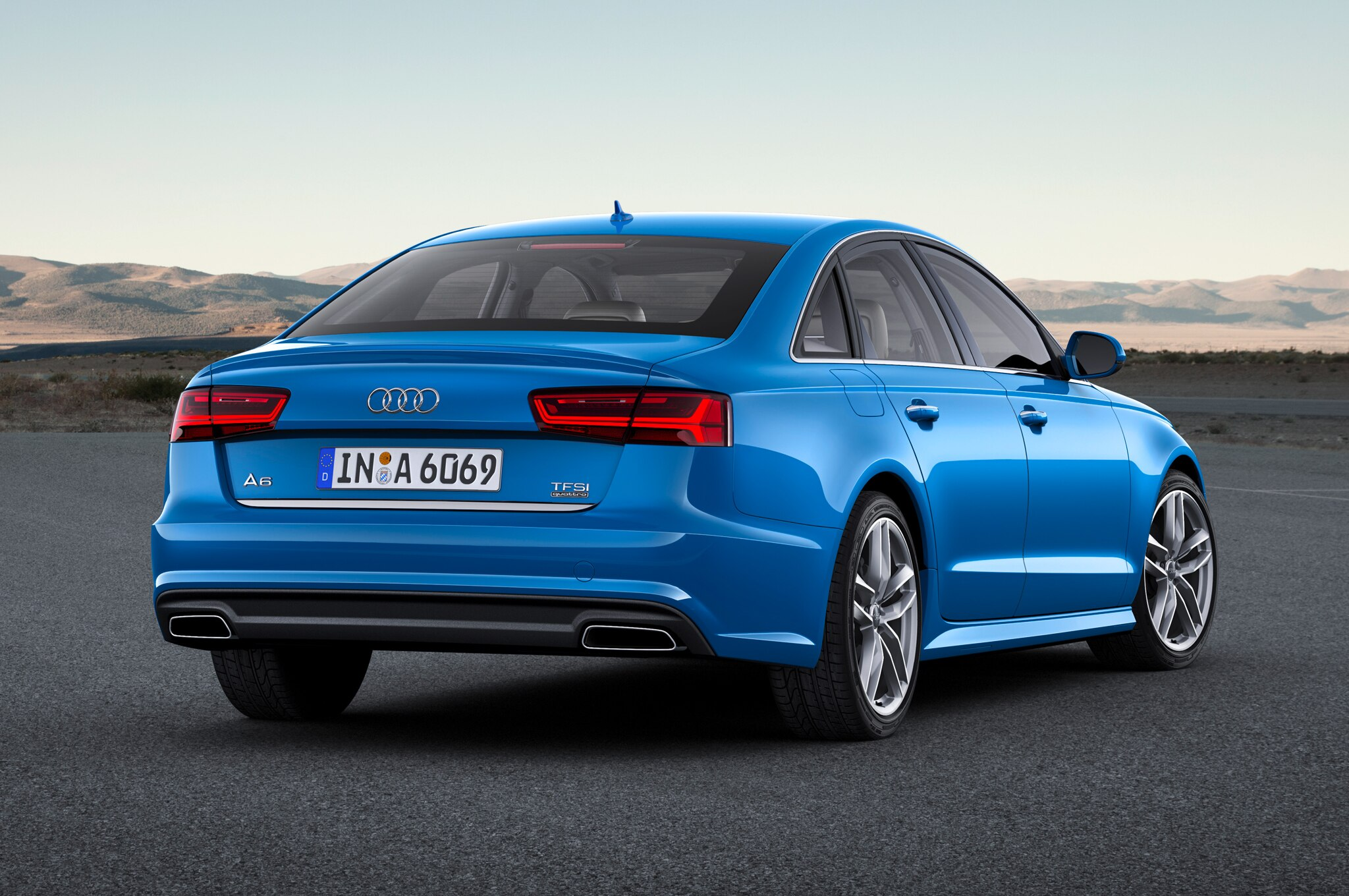 2017 Audi A6 Rear View 2017 2018 Best Cars Reviews