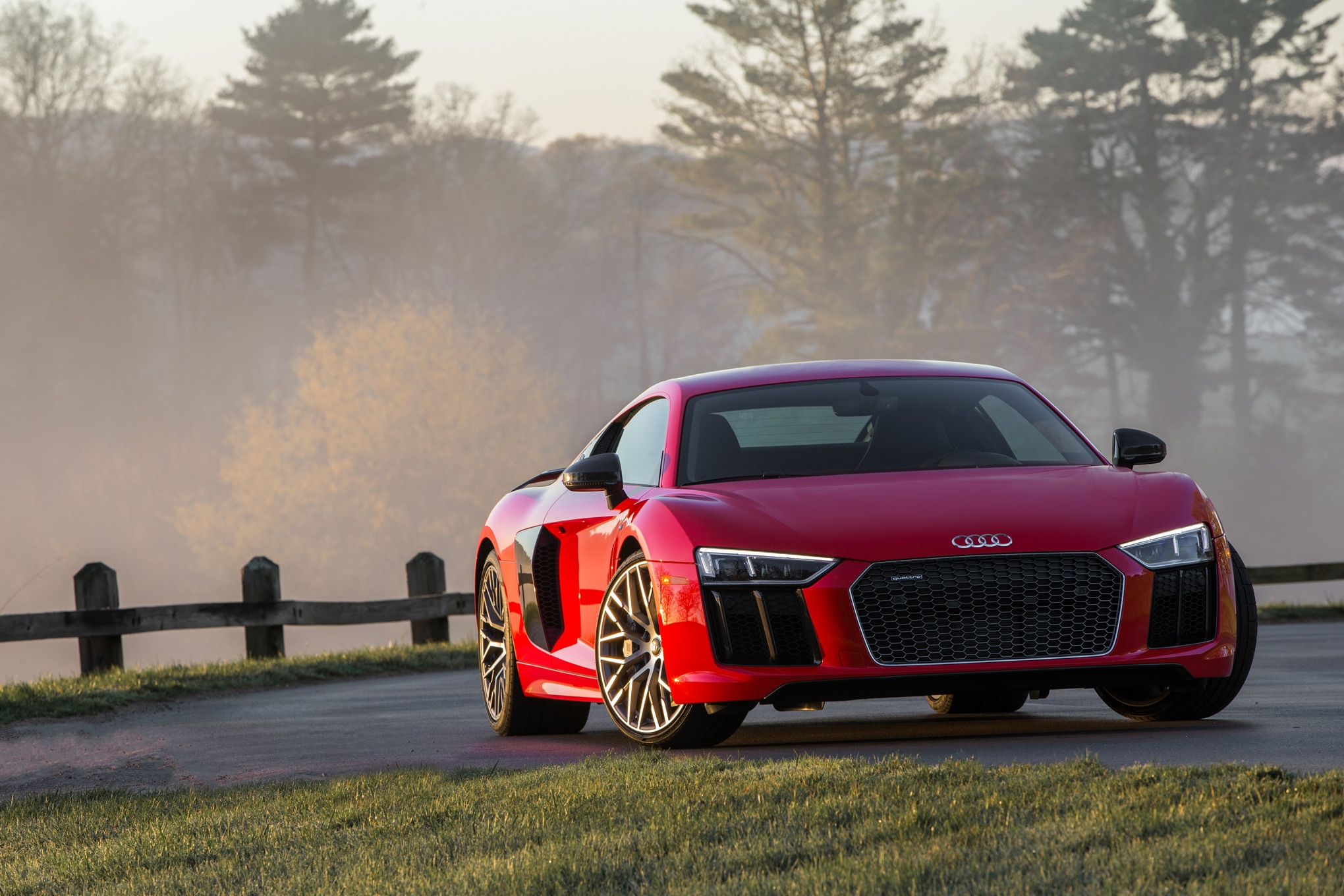 the audi r8 takes a step back | automobile magazine