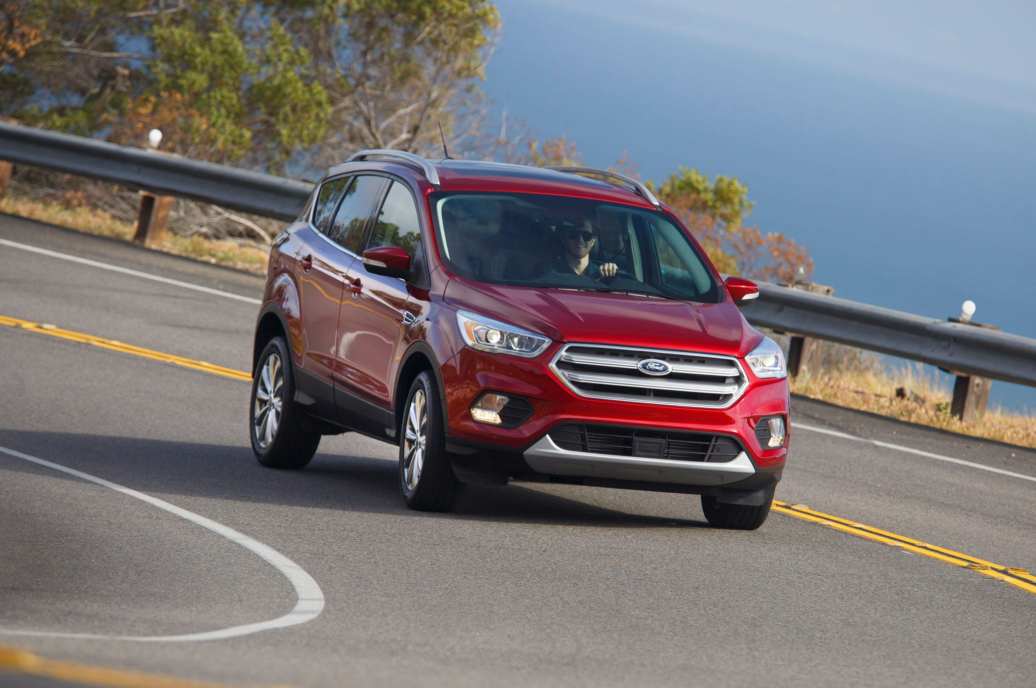 2017 Ford Escape Right Front Angle Driving