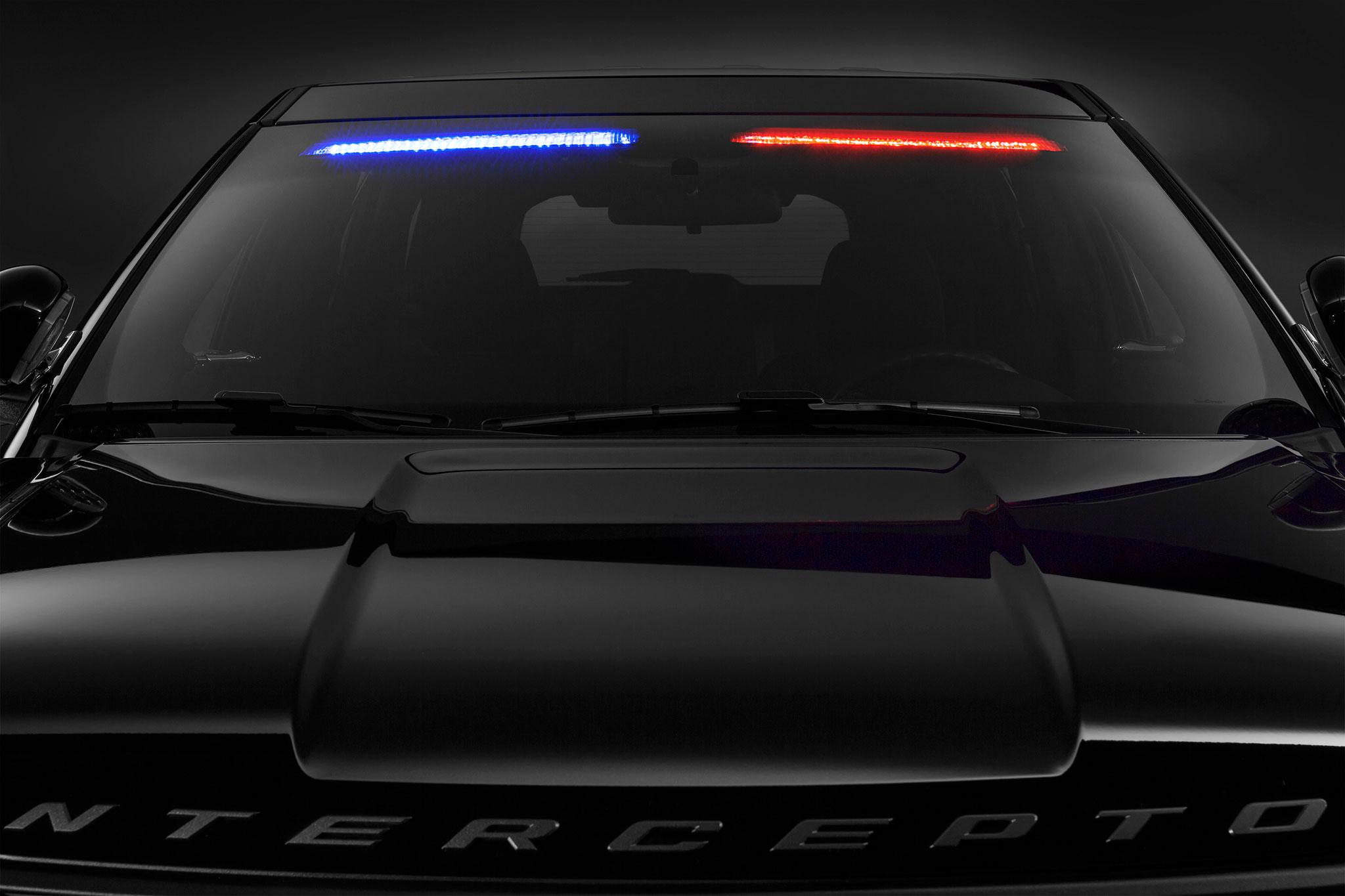 """Ford Police Interceptor Utility Gets Subtle """"No Profile"""" Light Bar ..."""