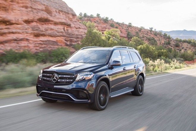 2017 Mercedes AMG GLS63 Front Three Quarter In Motion 03 1 660x440