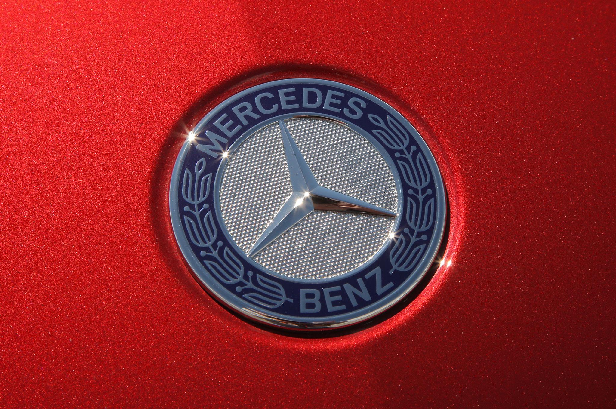 2017 mercedes benz gls class review for Mercedes benz badge