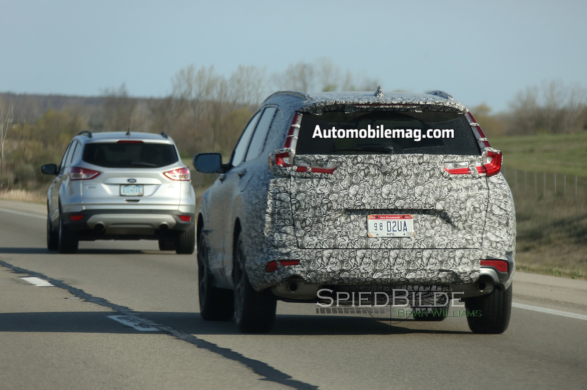 2018 Honda CR-V Spied with Sleeker Appearance | Automobile Magazine