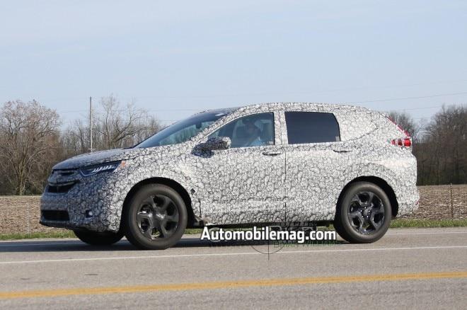 2018 Honda CR-V Spied with Sleeker Appearance   Automobile Magazine