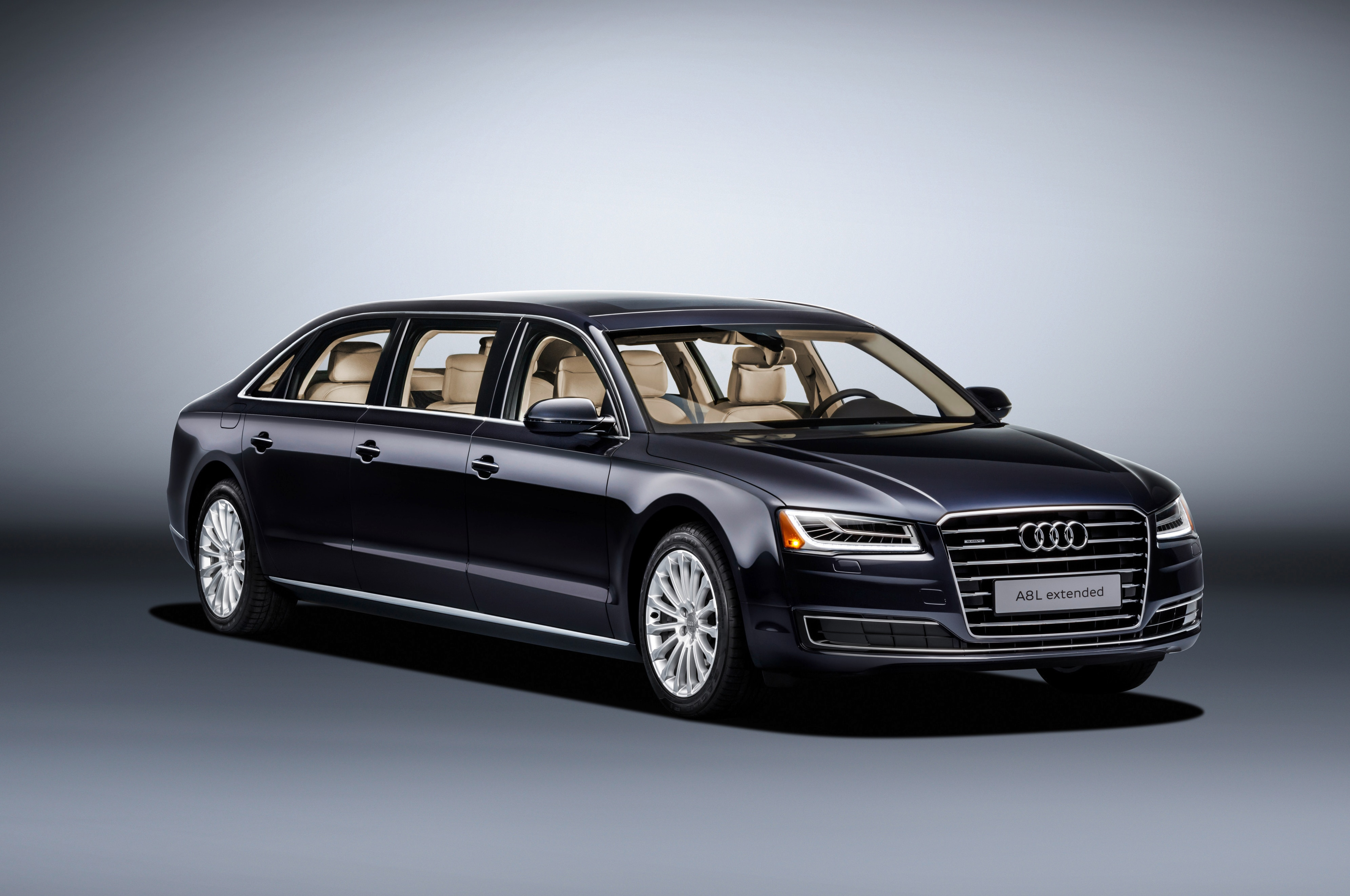 Check Out This Massive, One-Off Audi A8 L Extended Limousine