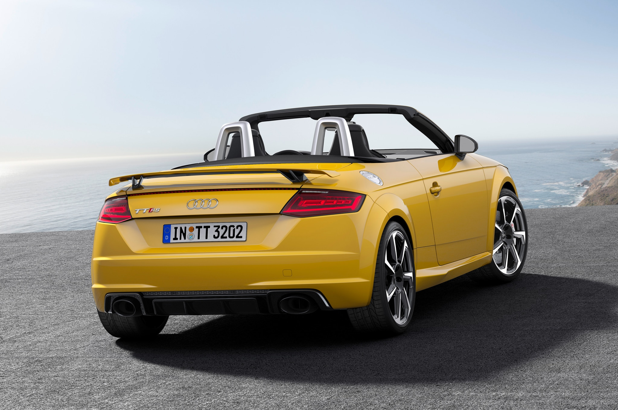 Audi TT RS Coupe, Convertible Charge into Beijing with 394 ...