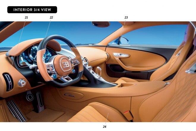 By Design Bugatti Chiron interior