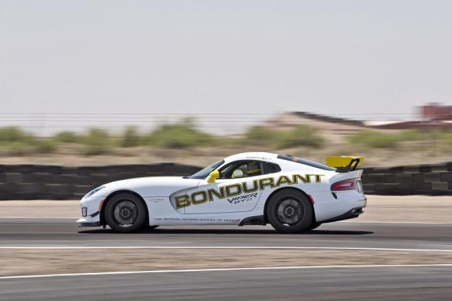 Dodge Viper SRT at Bondurant School side in motion