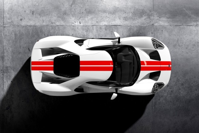 Ford GT configurator top view 01