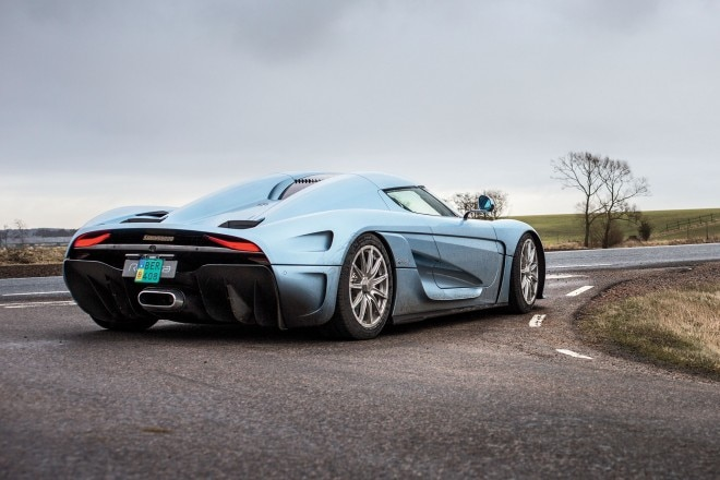 Koenigsegg Regera prototype rear three quarter 01