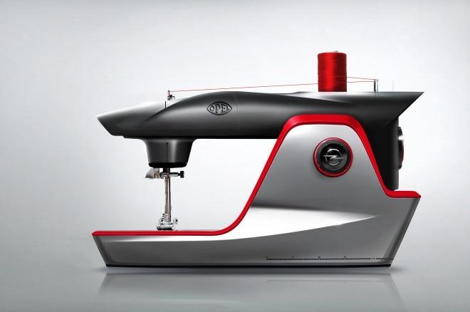 Opel Sewing Machine April Fools