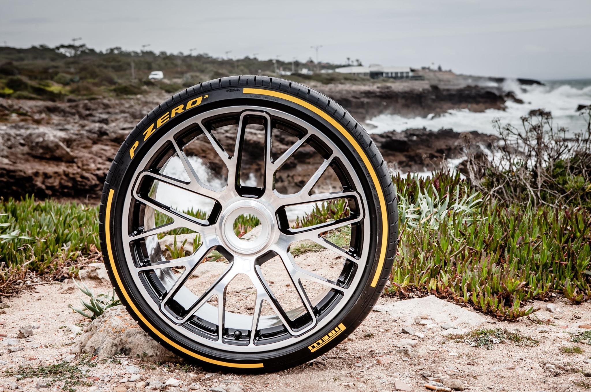 Pirelli S P Zero Tire Turns 30 Gets A Makeover Automobile