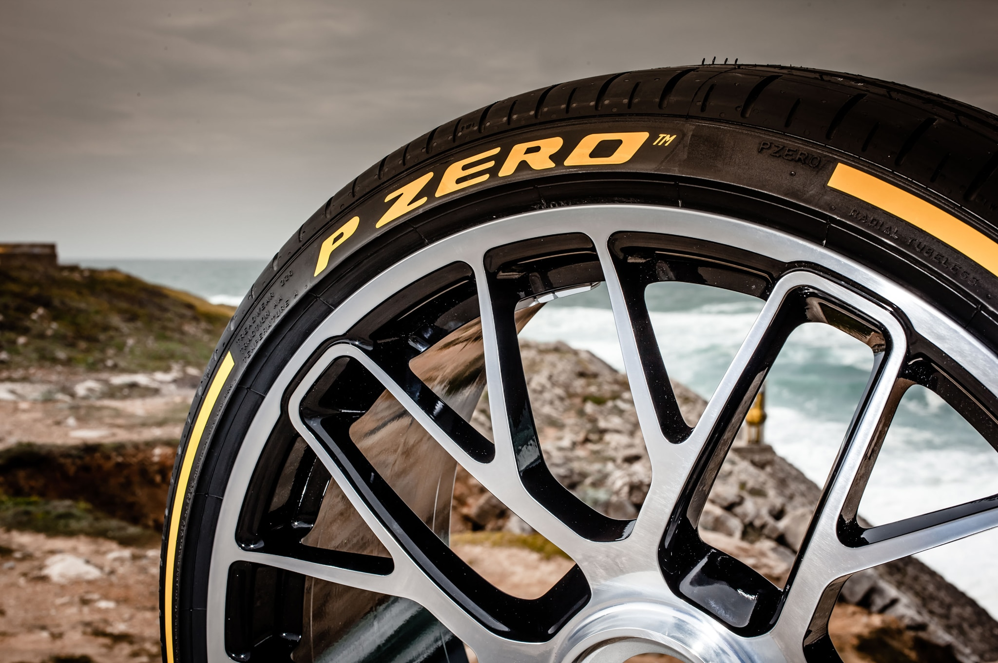 pirelli 39 s p zero tire turns 30 gets a makeover automobile. Black Bedroom Furniture Sets. Home Design Ideas