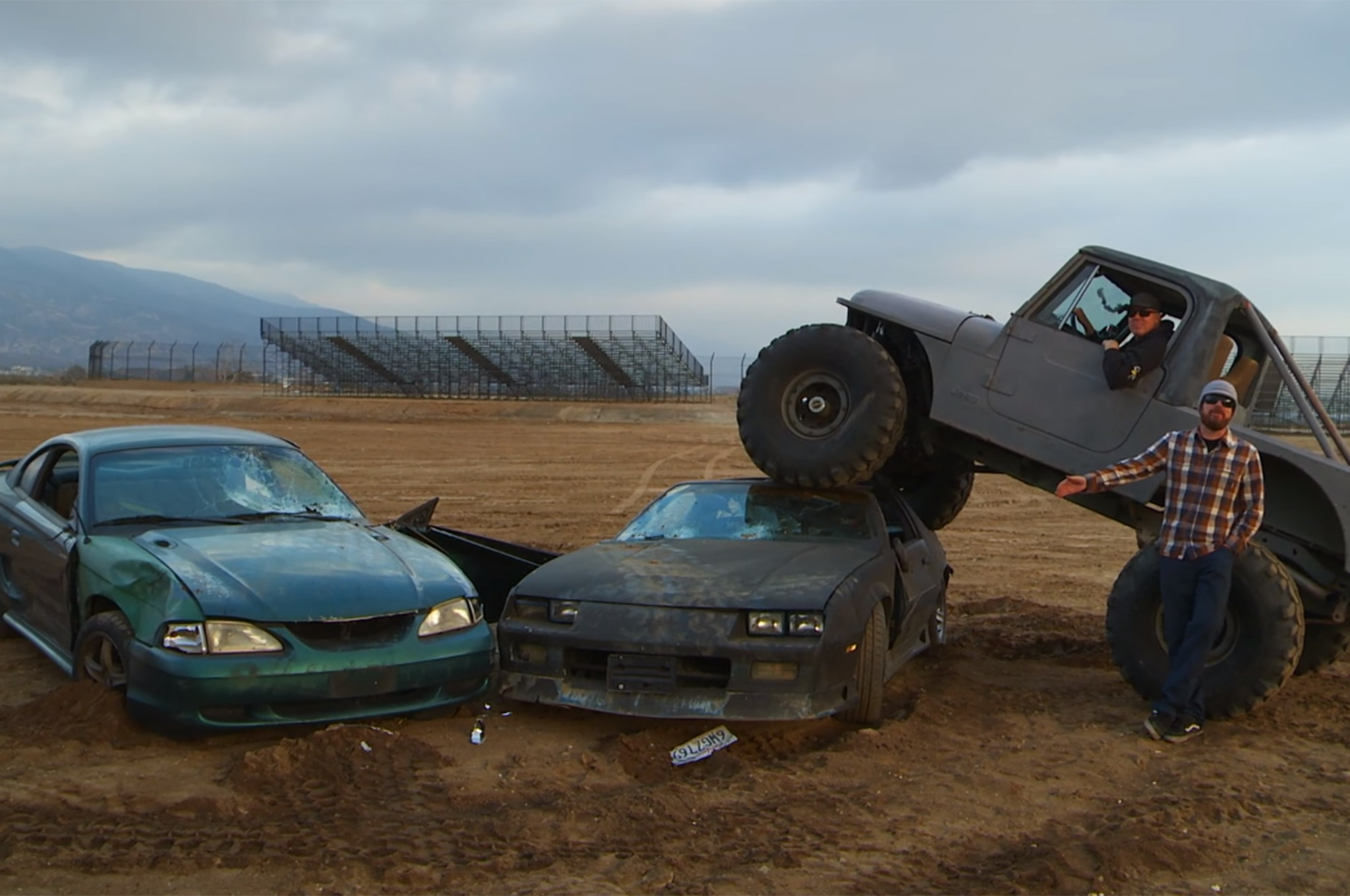 Roadkill Trashes a Crapped-Out Mustang and Camaro on ...