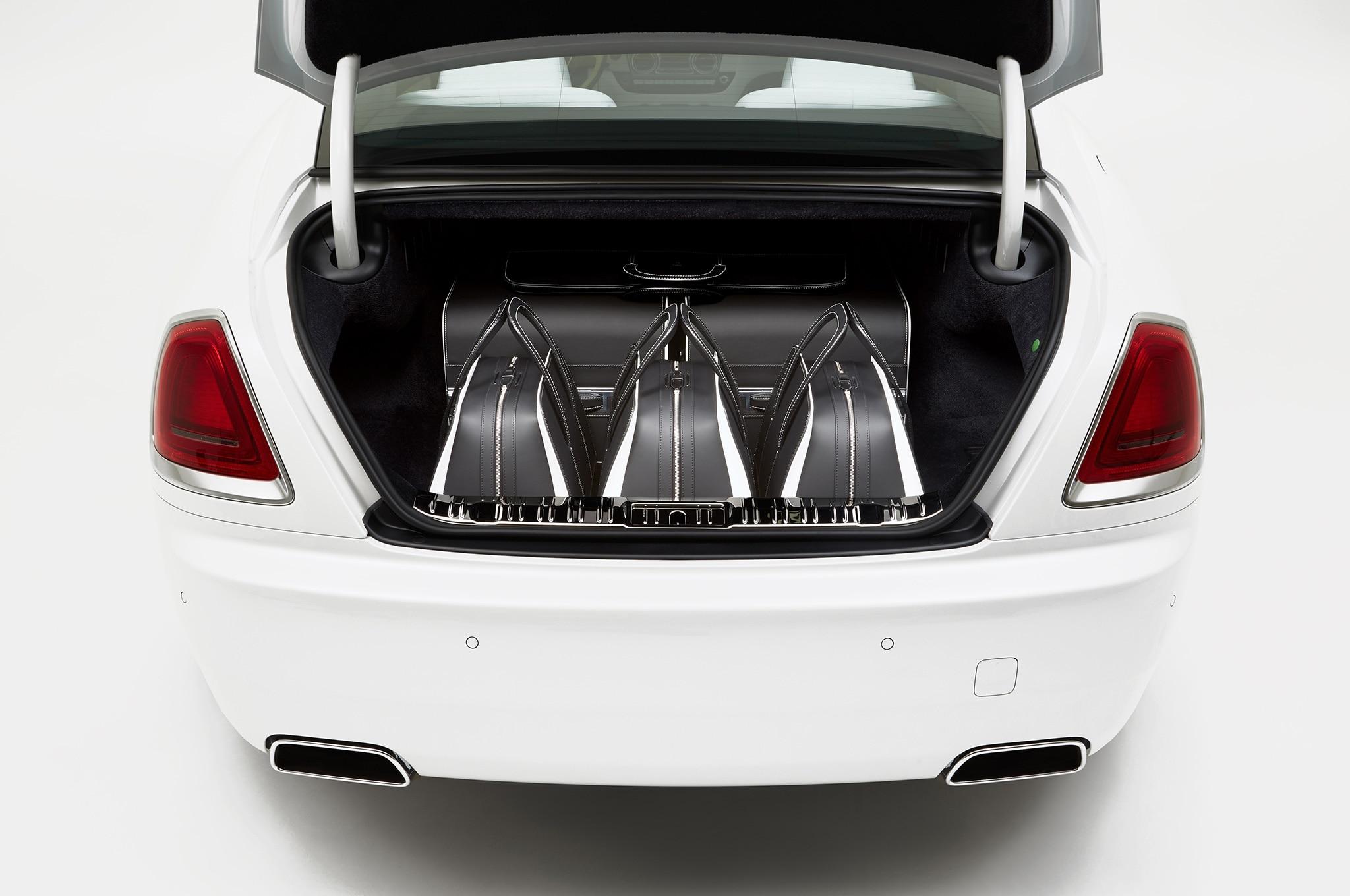 Rolls Royce Wraith Luggage Set 1