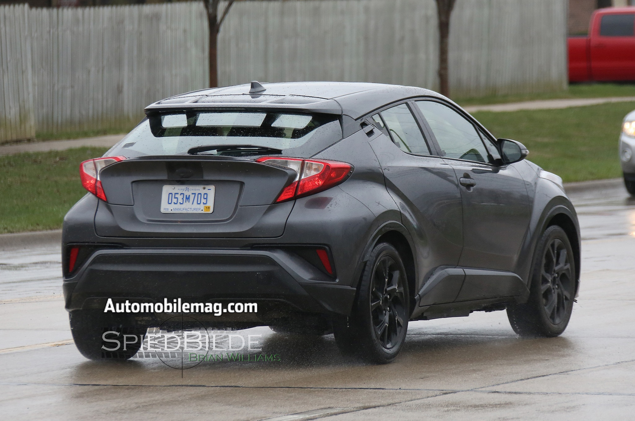 Toyota C-HR Compact Crossover Spied Mostly Undisguised | Automobile ...