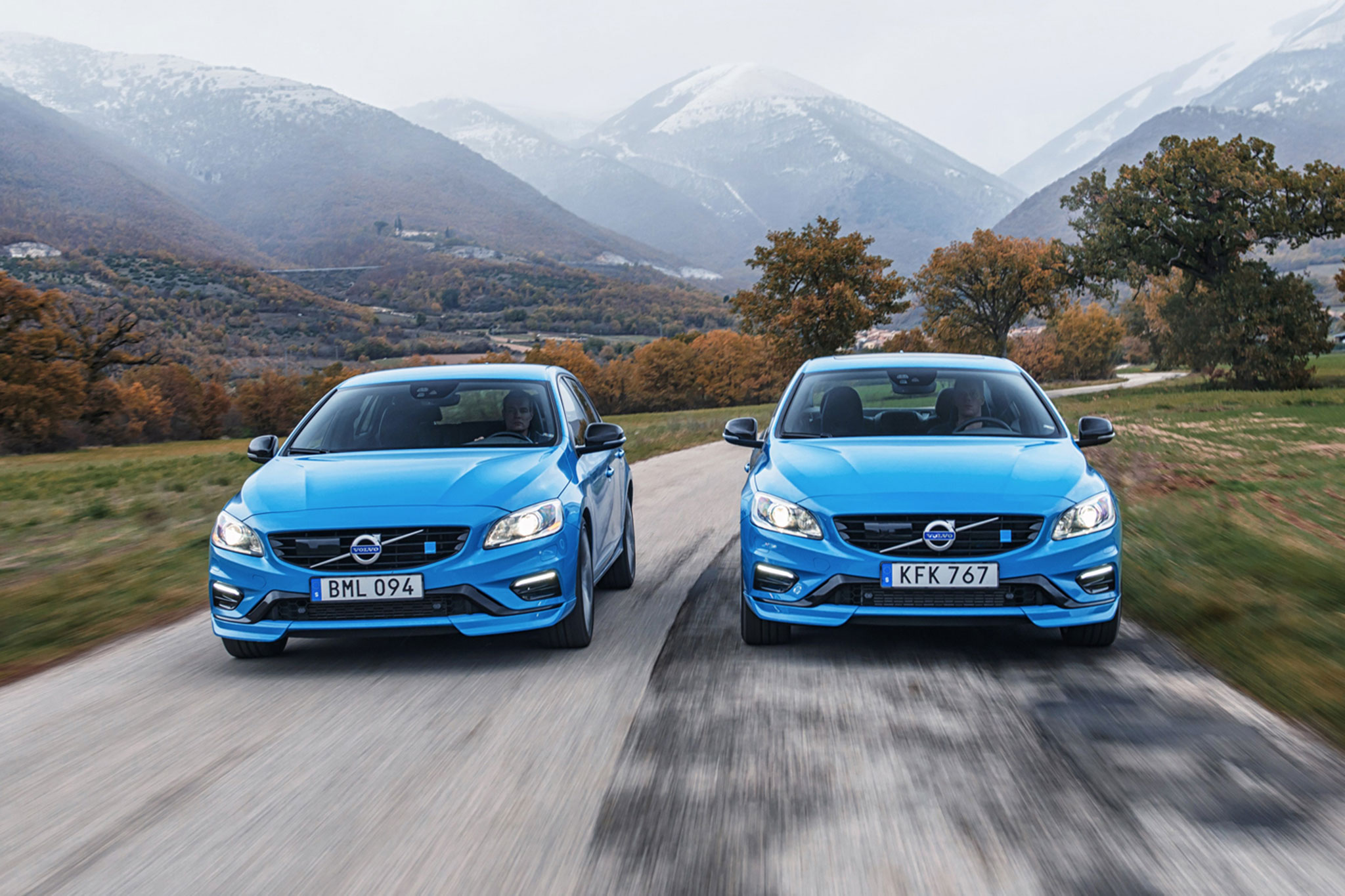 2017 volvo v60 and s60 polestar first drive review. Black Bedroom Furniture Sets. Home Design Ideas