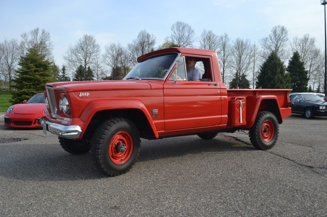 1964 Jeep Gladiator J200 FCA Cars and Coffee
