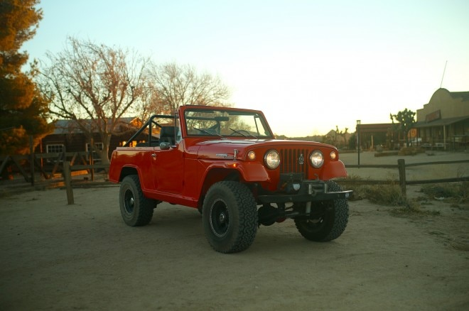 1970 Jeep Commando Petrolicious front three quarters