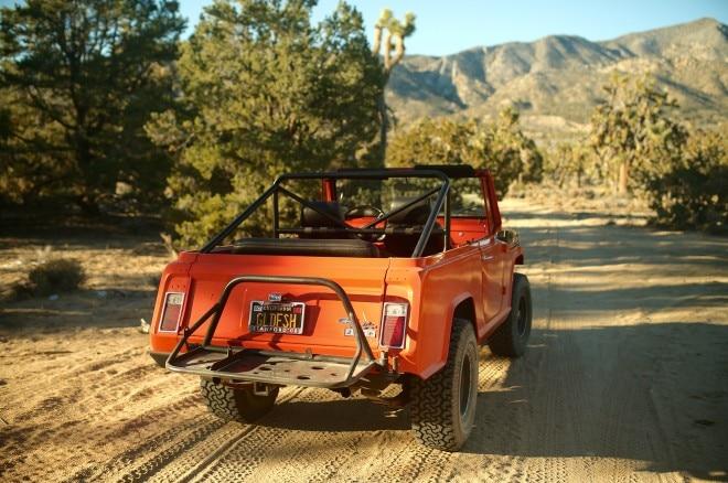 1970 Jeep Commando Petrolicious rear three quarters