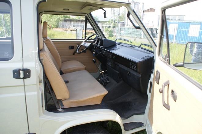 1989 Volkswagen T3 Doka Ex Ferdinand Butzi Porsche interior