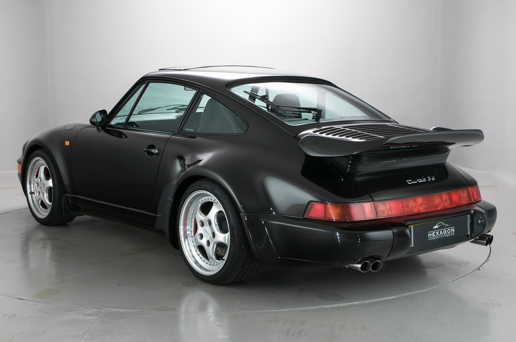 rare 1994 porsche 964 911 turbo 3 6 s flachbau up for sale automobile. Black Bedroom Furniture Sets. Home Design Ideas