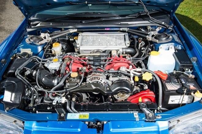 1998 Subaru Impreza STI 22B Engine