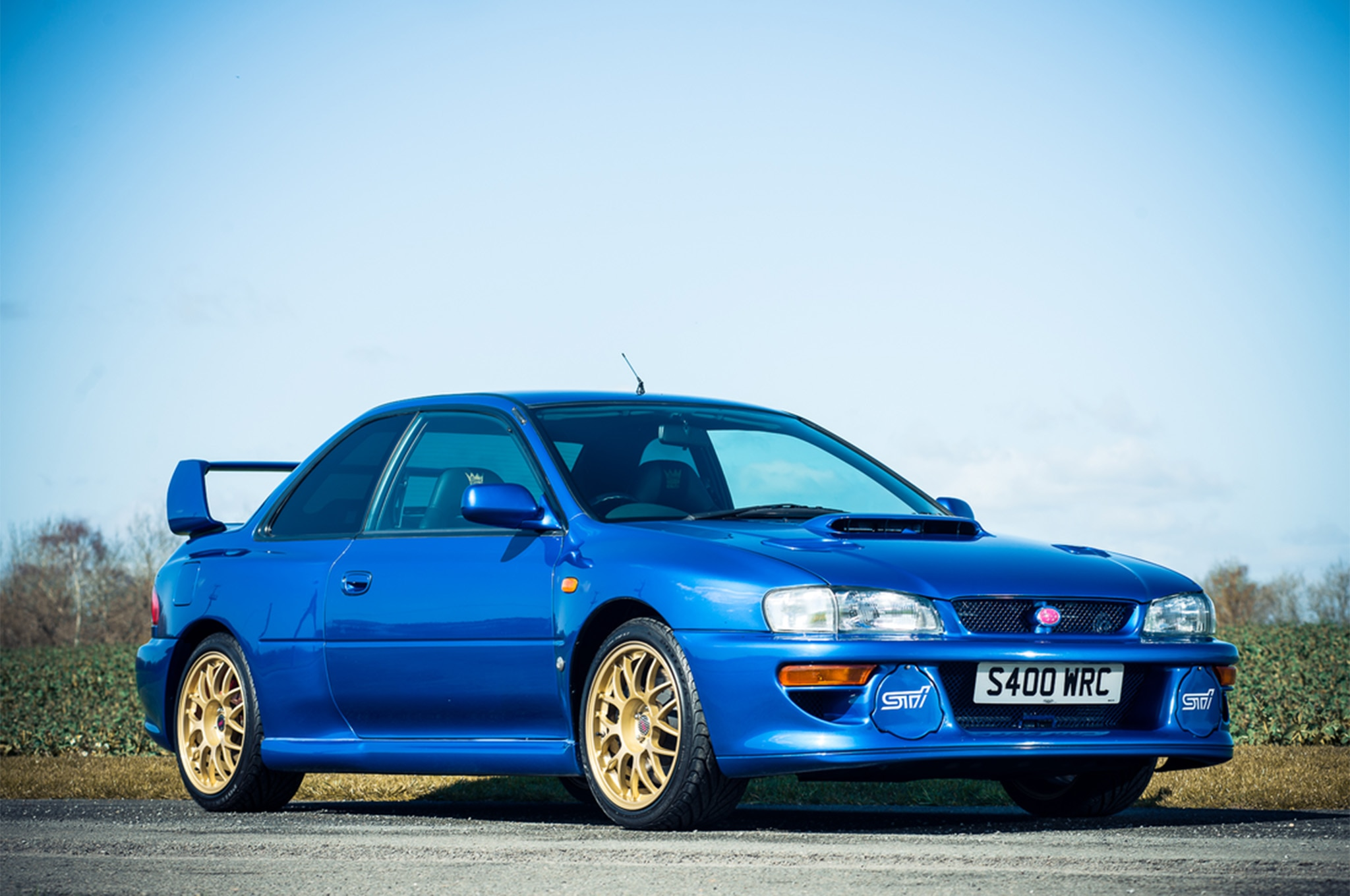 rare 1998 subaru impreza sti 22b heads to auction automobile magazine. Black Bedroom Furniture Sets. Home Design Ideas