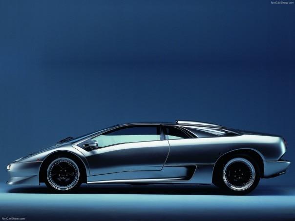 1999 Lamborghini Diablo SV profile