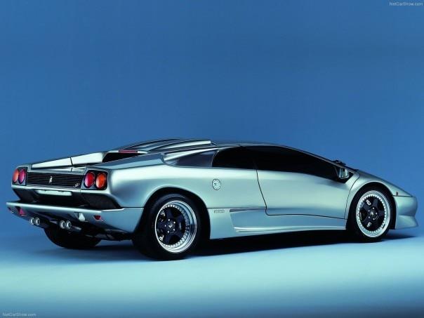 1999 Lamborghini Diablo SV rear three quarter