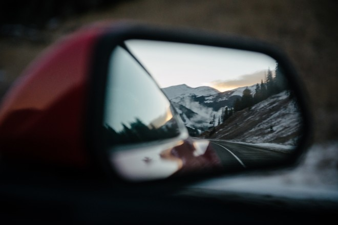 2015 Ford Mustang EcoBoost Premium door mirror