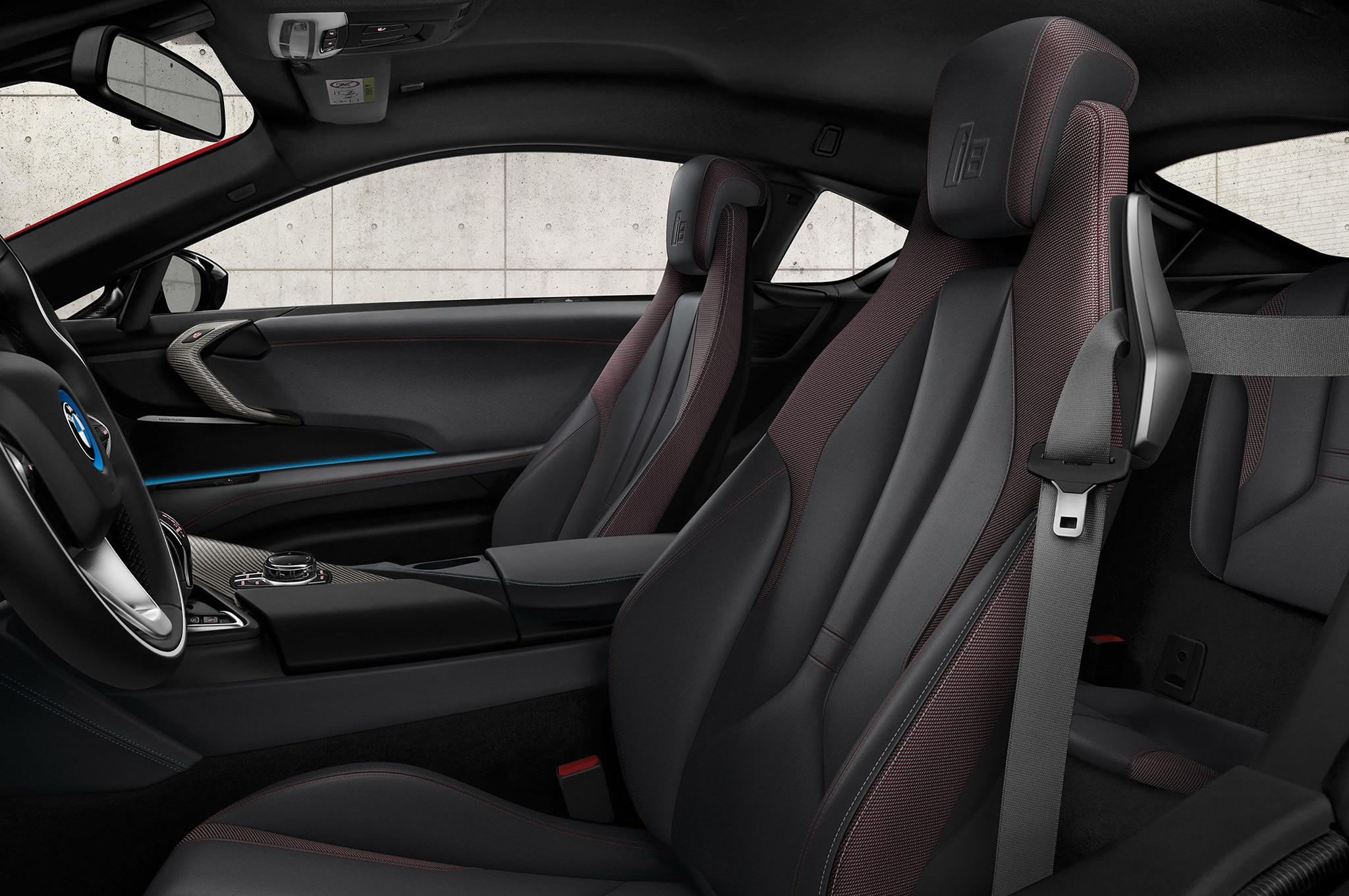 Bmw releases various special edition models including two for Bmw i8 interior