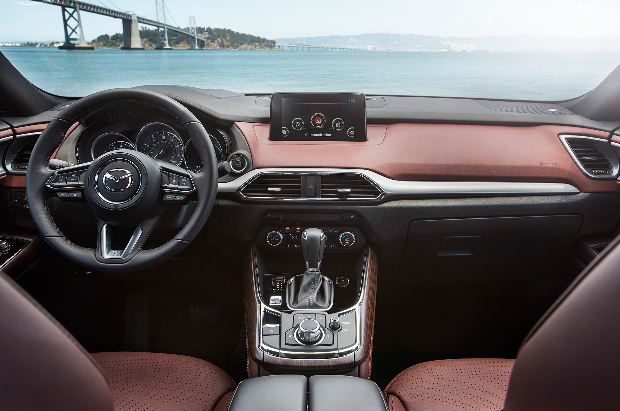 to connect Apple iPhone and 2016 Mazda CX-5 to Bluetooth
